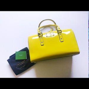 Kate Soade Fliker Melinda bag in Citron